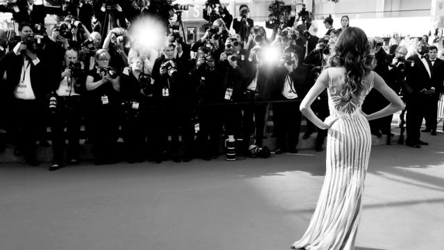 black and white red carpet ready red carpet beauty