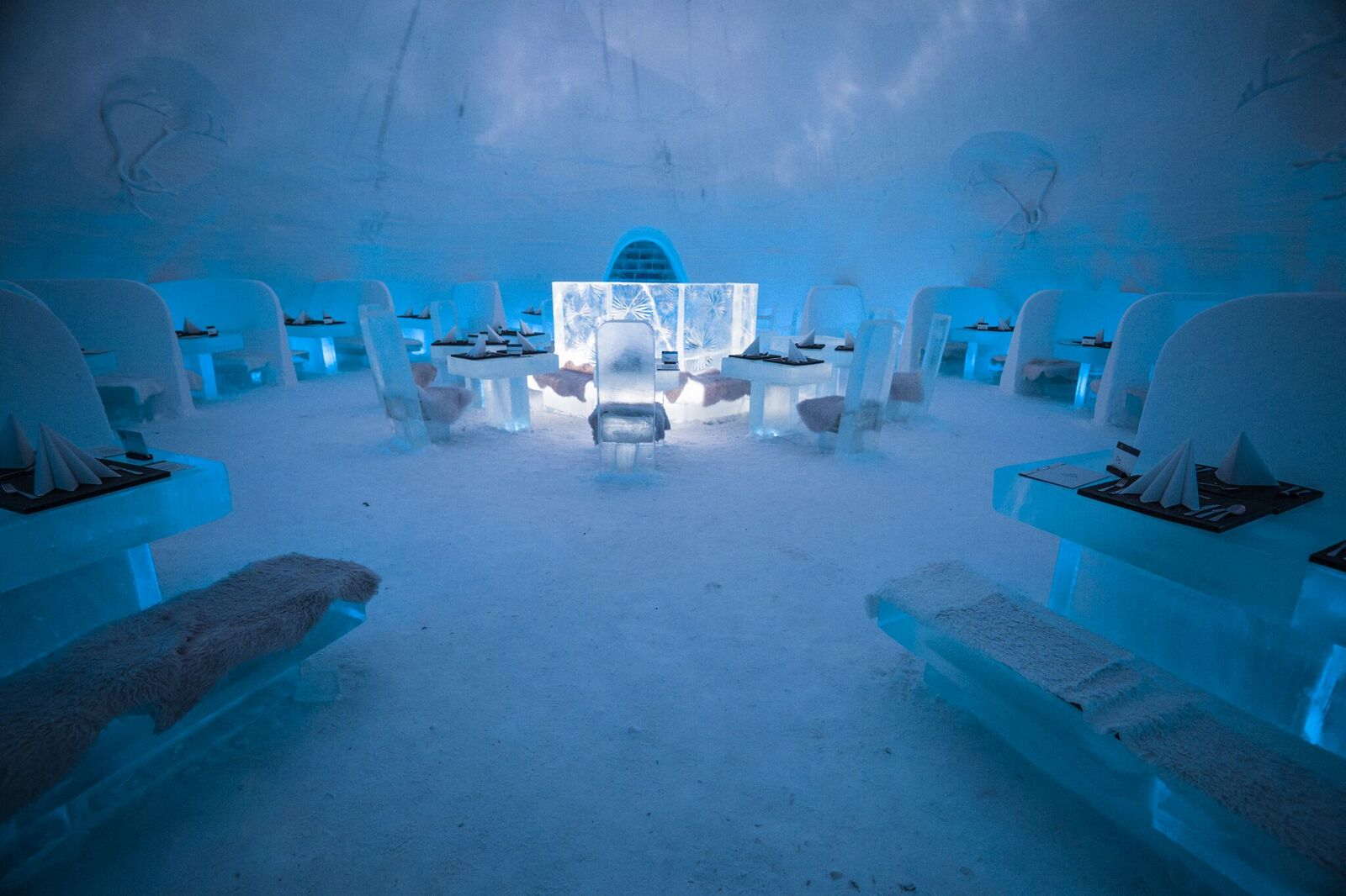 the restaurant in game of thrones hotel in finland