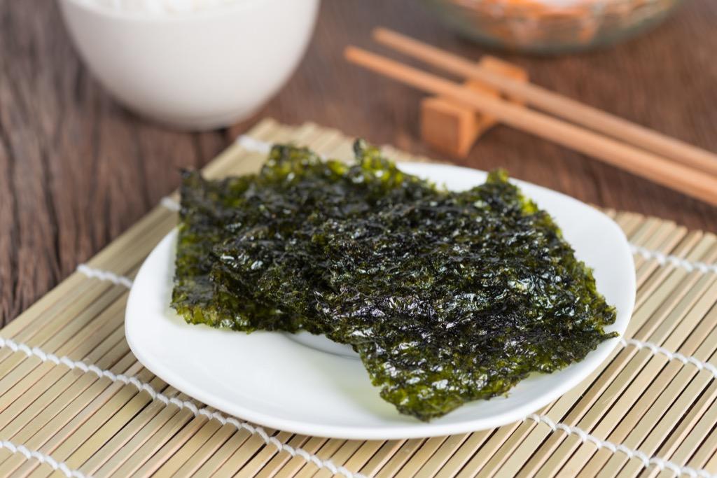 seaweed nori thyroid health