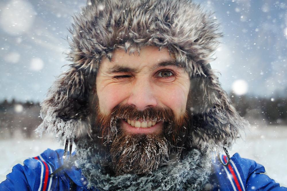 russian in winter