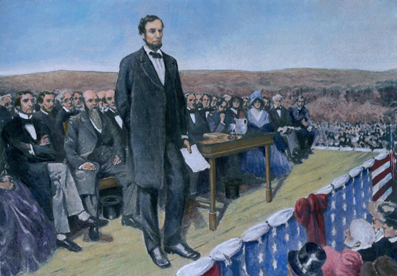 Former President Abraham Lincoln