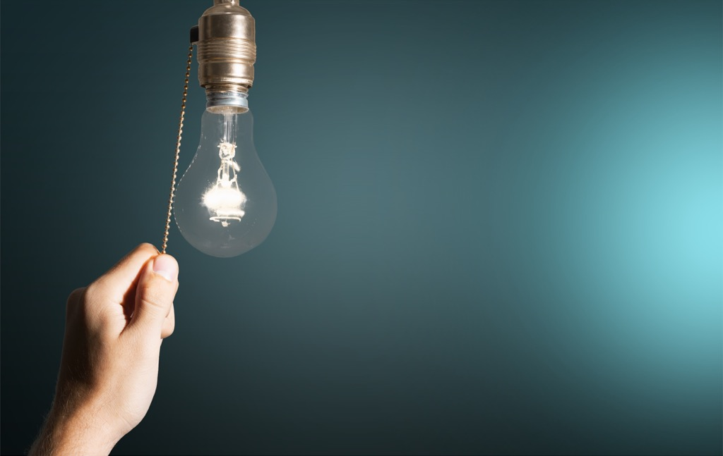 incandescent light bulb obsolete home items