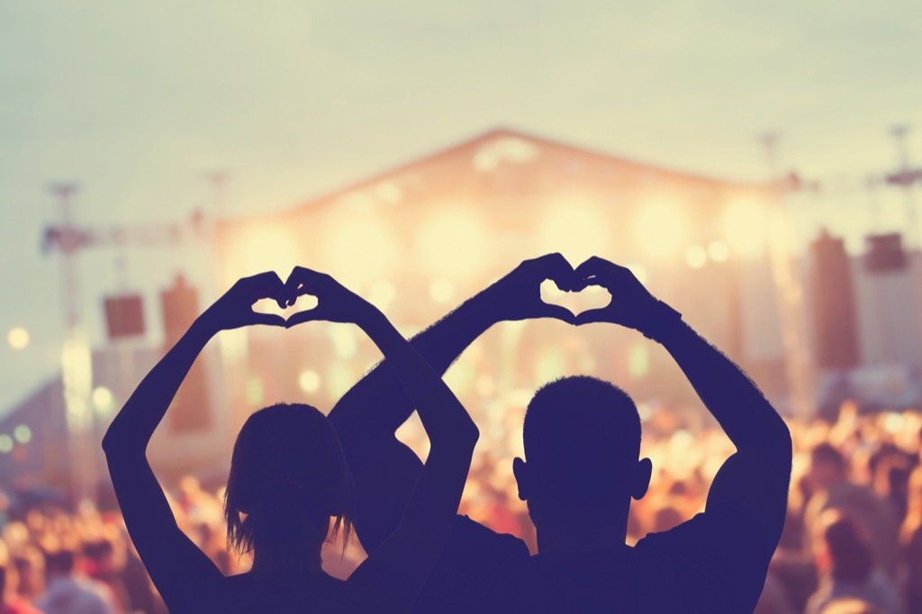 Concert tickets for the Best Birthday Gifts for Your Husband