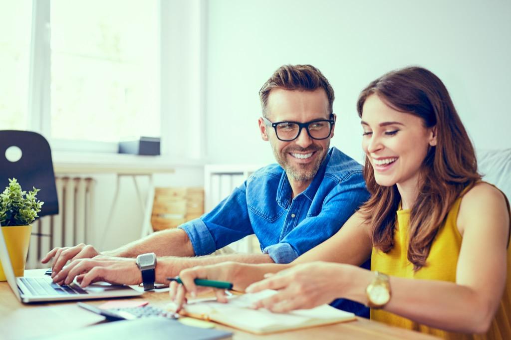 Couple doing taxesWealth-Building Tips