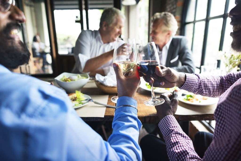 business dinner and the 25 things you shouldn't do at a fancy restaurant