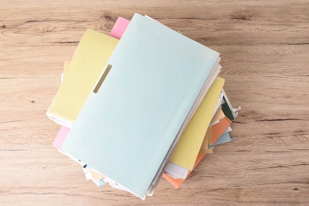 Create Folders for Your Mail and Receipts Organized