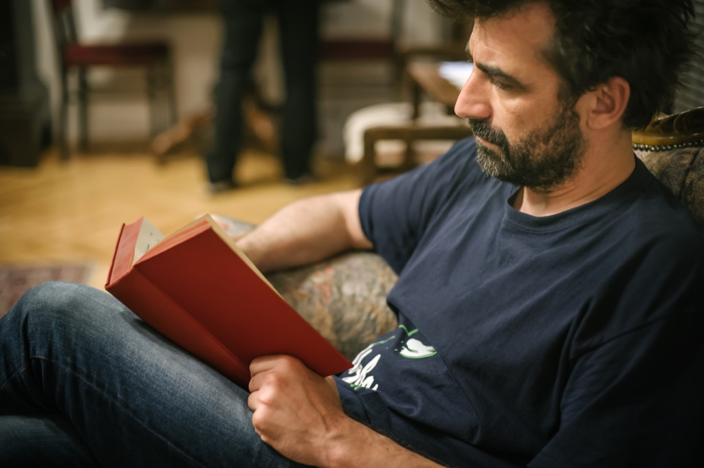 man reading A Book Best Birthday Gifts for Your Husband