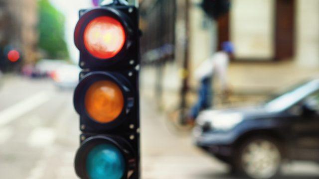 traffic red lights