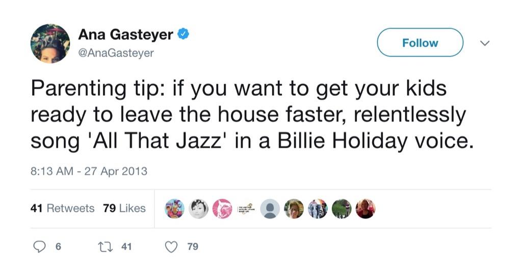 Ana Gasteyer Funniest Parenting Tweets