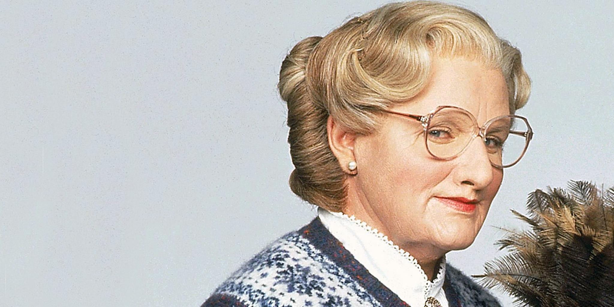 Mrs. Doubtfire Robin Williams, funniest movie characters