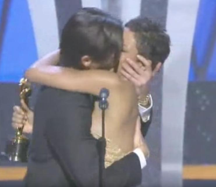 Adrien Brody Halle Berry Iconic Kisses