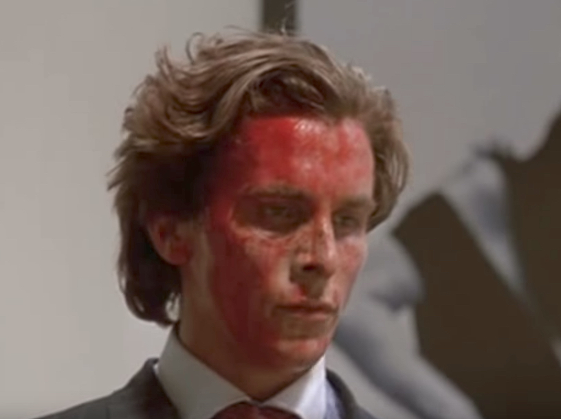 American Psycho Christian Bale Jokes in Non-Comedy Movies
