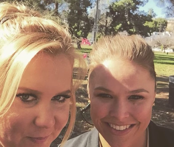 Amy Schumer Ronda Rousey Fascinating Celebrity Friendships