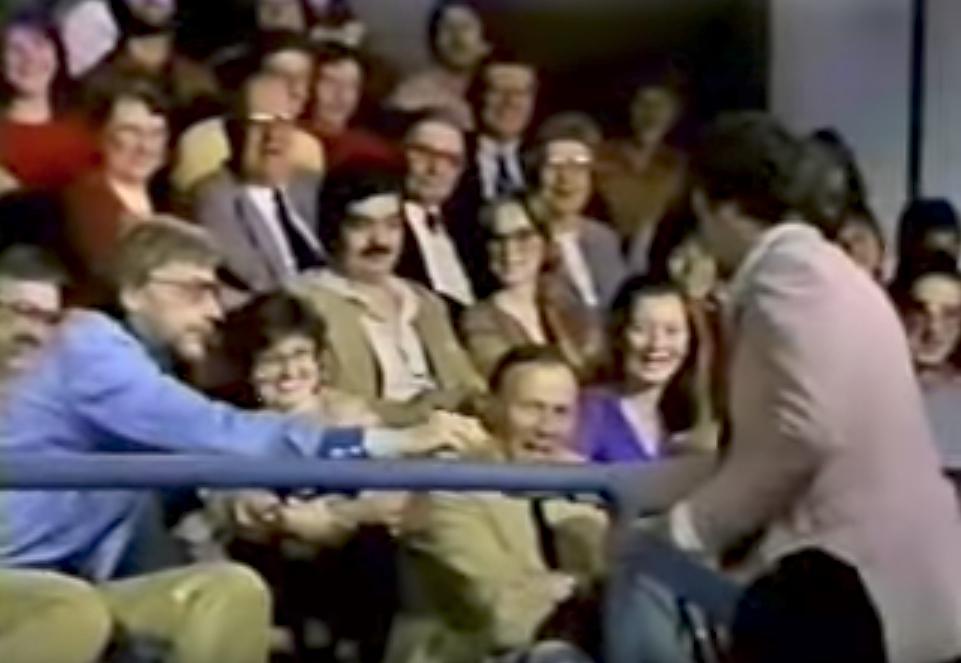 Andy Kaufman on David Letterman Late Night