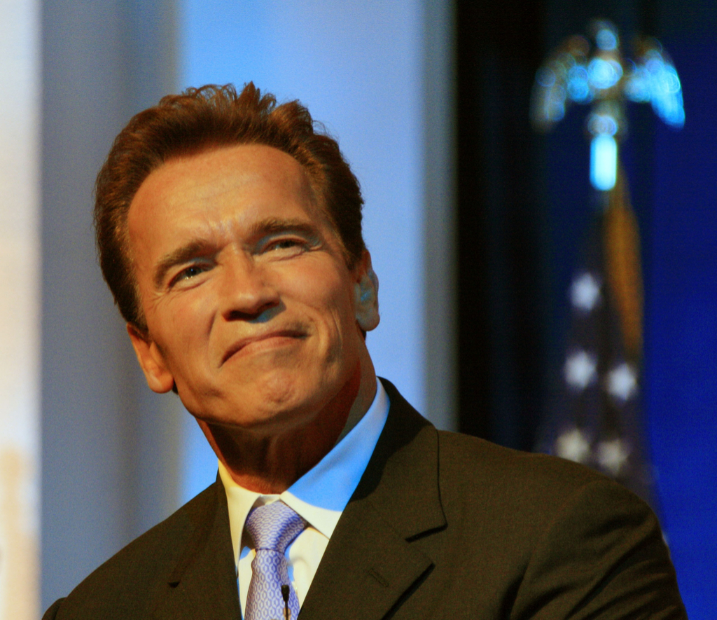 Arnold Schwarzenegger misspelled celebrity names