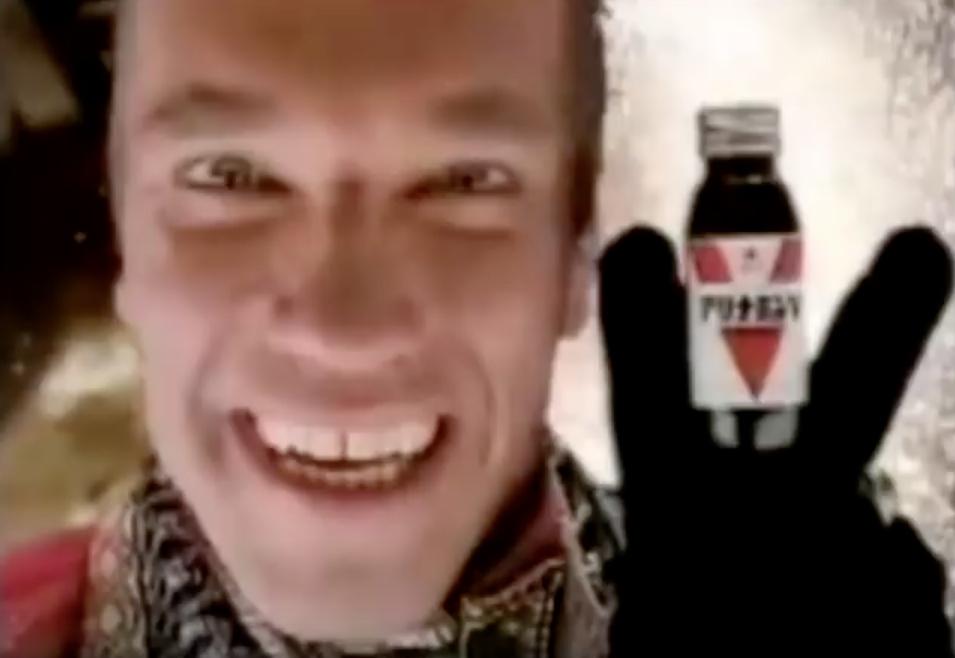 Arnold Schwarzeneggar Alinamin Celebrity Commercials