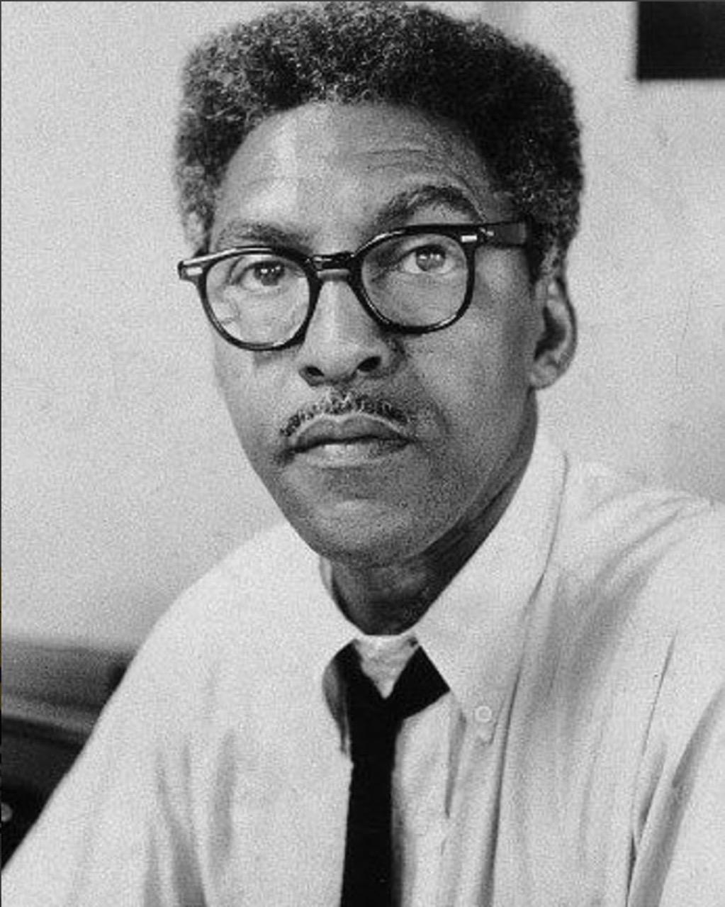 Civil rights hero Bayard Rustin