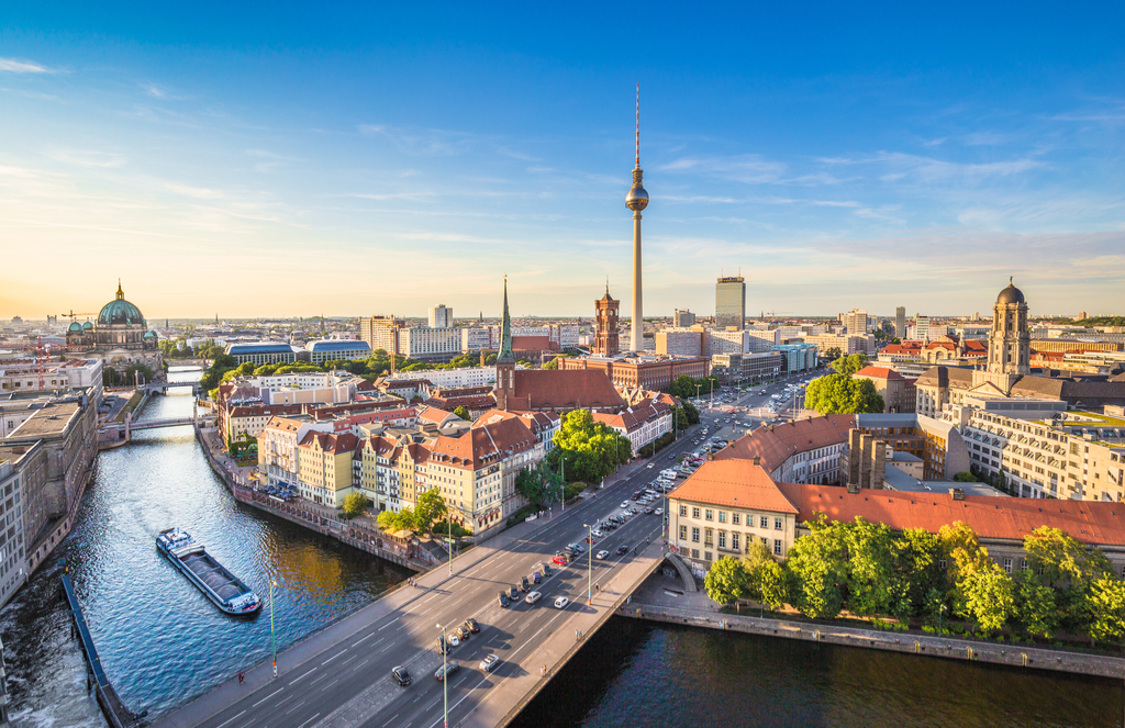 Berlin, Germany Cleanest Cities in the world