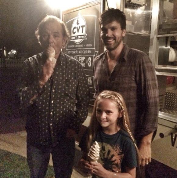 Bill Murray Attends Ice Cream Social