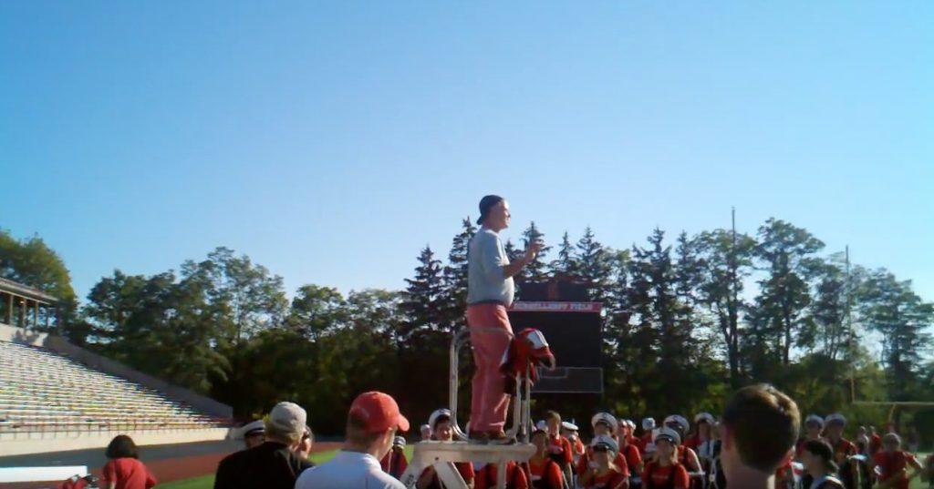 Bill Murray Conducts Band