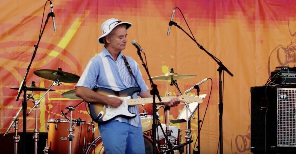 Bill Murray Crossroads Guitar Festival