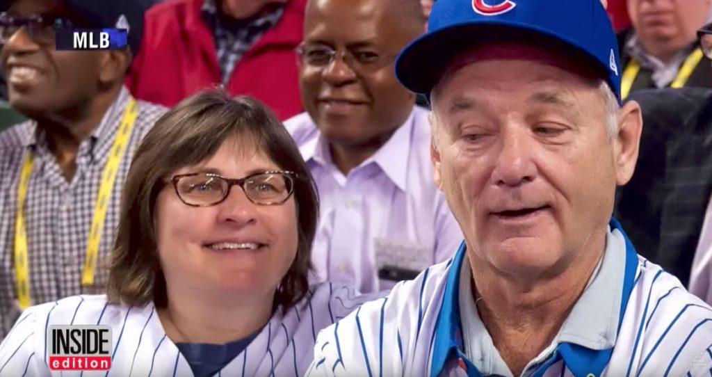Bill Murray Gives Fan Cubs Ticket