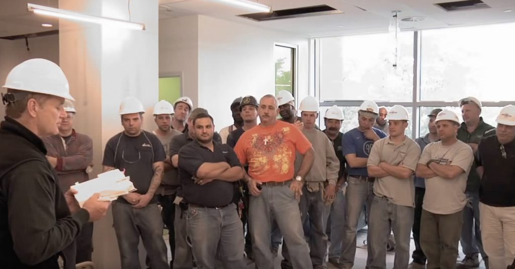 Bill Murray Reads Poetry to Construction Workers