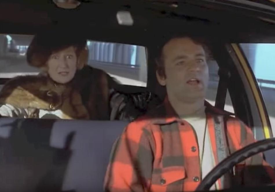 Bill Murray Stripes Cab