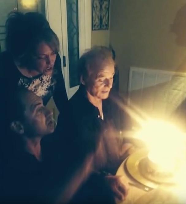 Bill Murray at Birthday Party