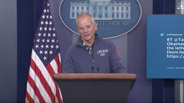 Bill Murray at White House