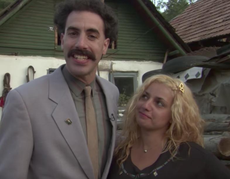 Borat funny movie quotes