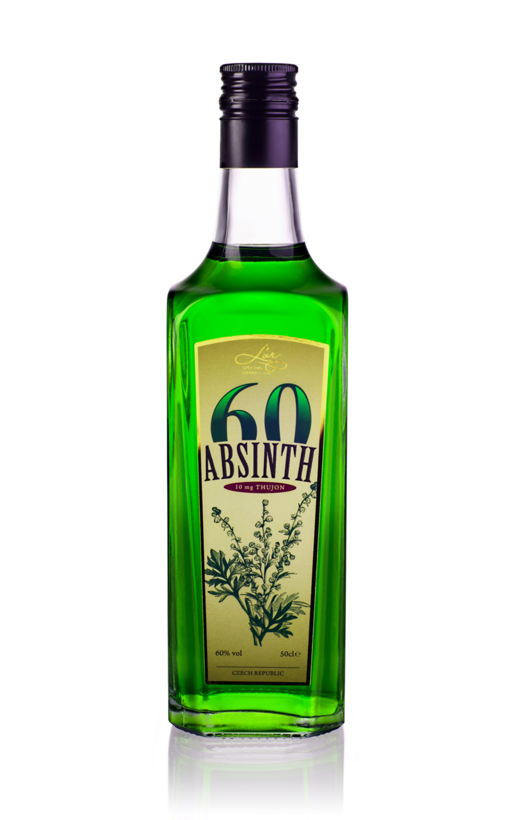 Bottle of Absinthe Bogus 20th Century Facts