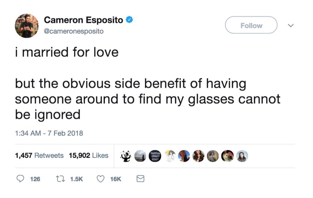 Cameron Esposito funniest celebrity marriage tweets