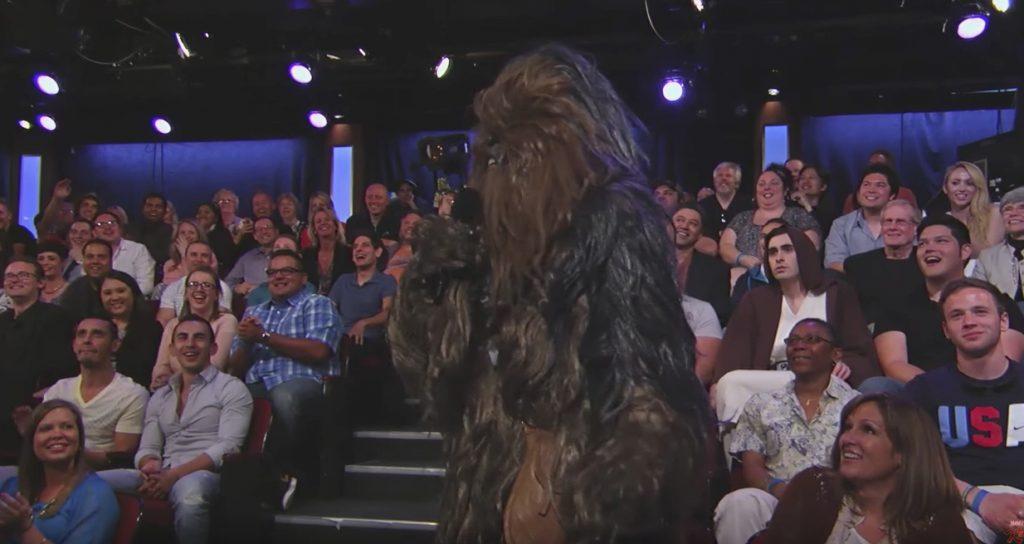 Chewbacca Late Night