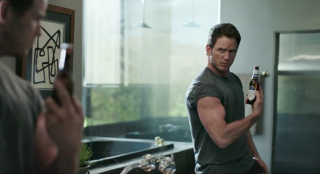Chris Pratt Michelob Ultra Celebrity Commercials
