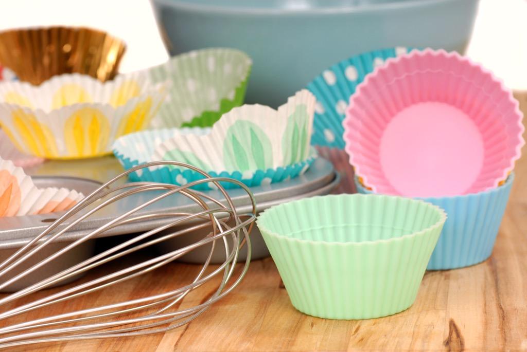 Cupcake wrapper organized
