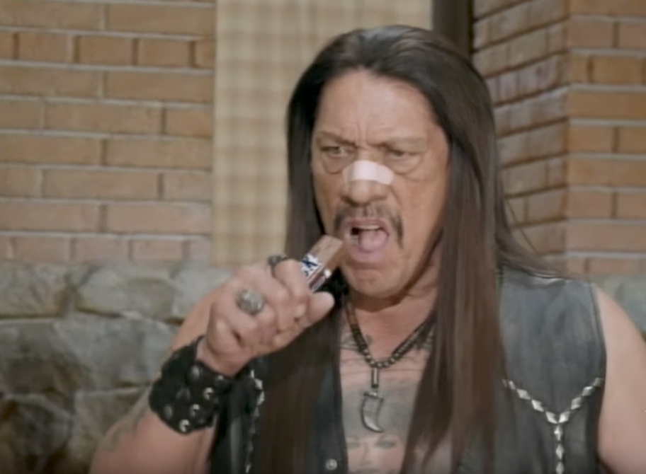 Danny Trejo Snickers Celebrity Commercials
