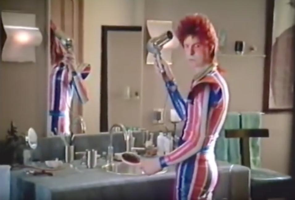 David Bowie David Brighton Vittel Celebrity Commercials