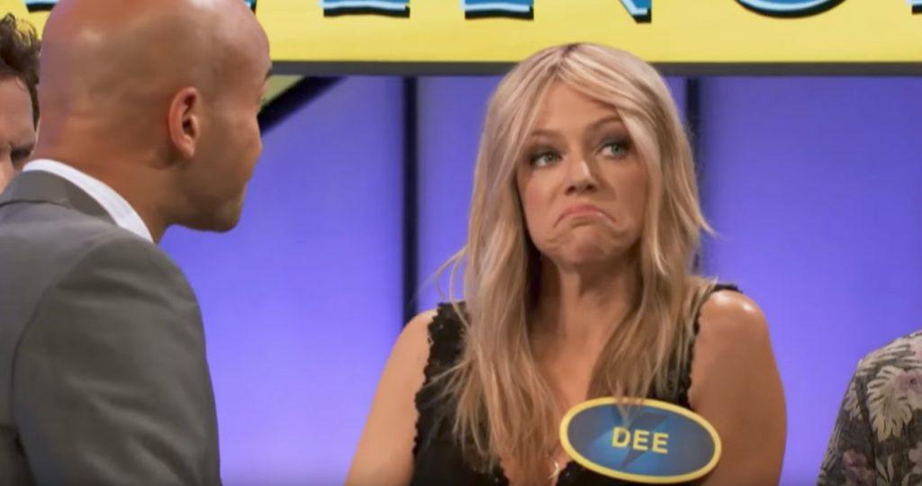 Dee Reynolds It's Always Sunny in Philadelphia Funniest Sitcom Characters