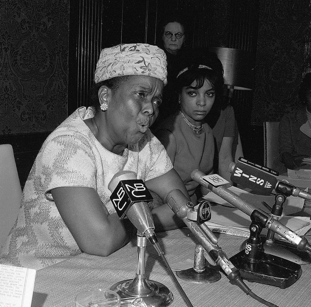 Civil rights hero Ella Baker