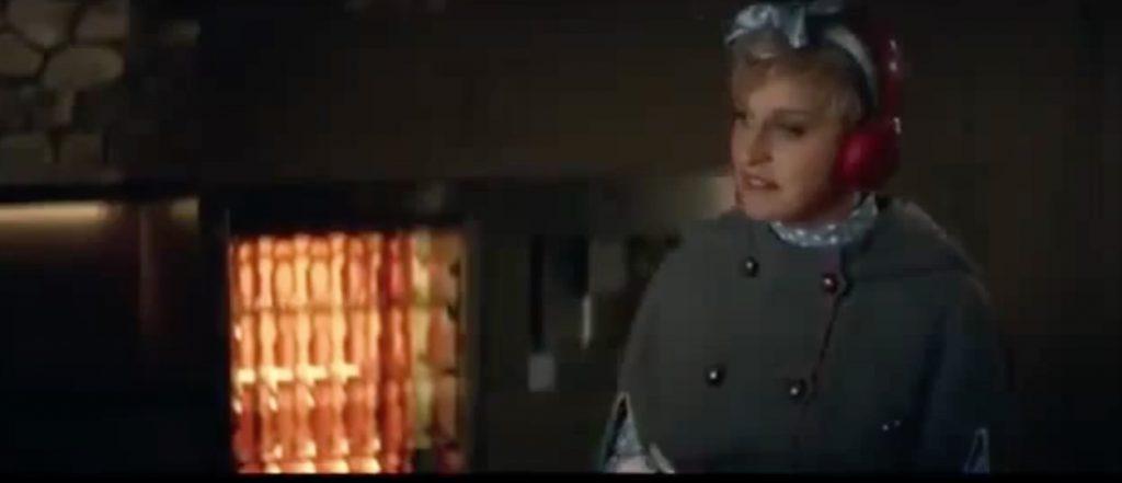 Ellen Degeneres Beats Celebrity Commercials