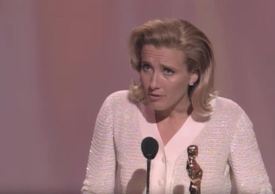 Emma Thompson Oscars Jokes