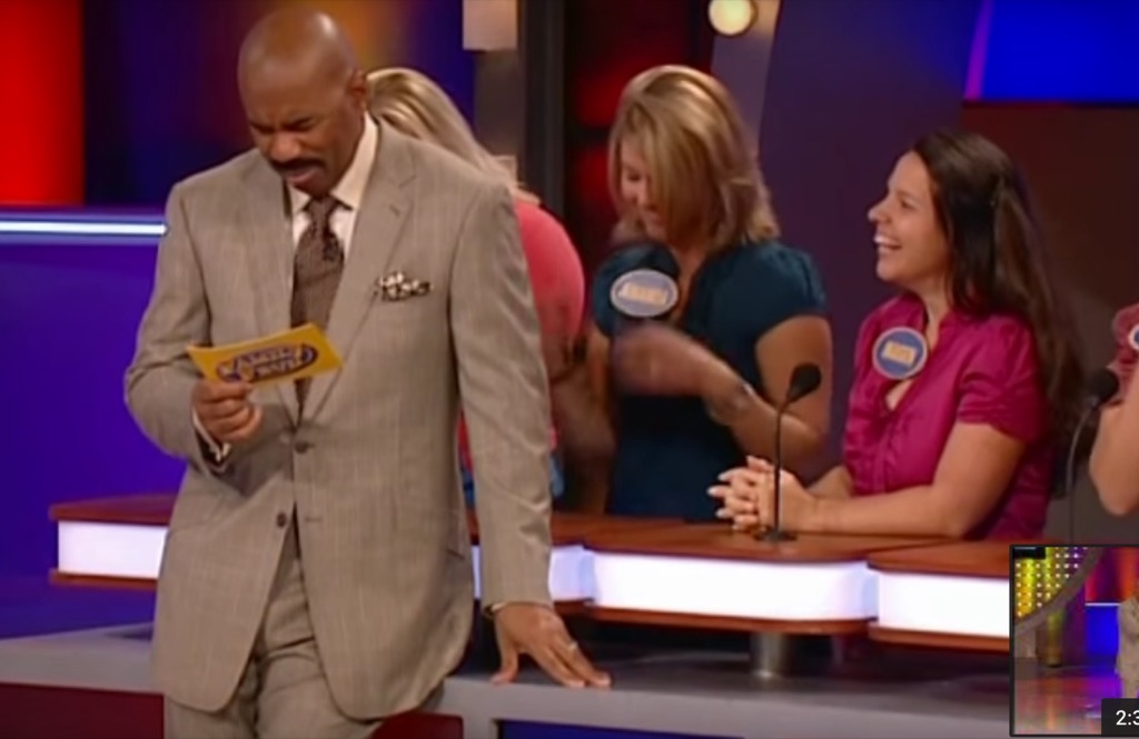 Family Feud funny gameshow moments