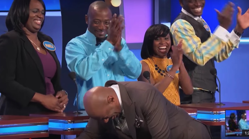 Steve Harvey Family Feud funny gameshow moments