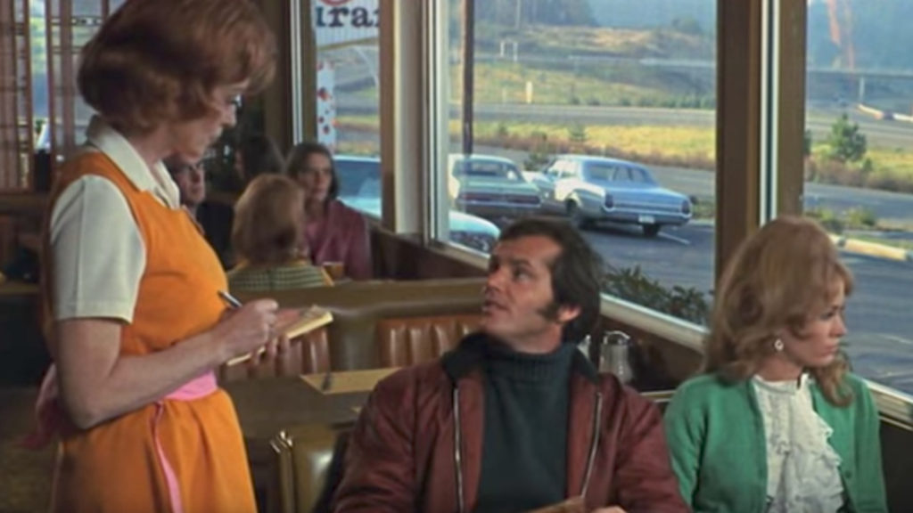 Five Easy Pieces Diner Scene Jokes in Non-Comedy Movies