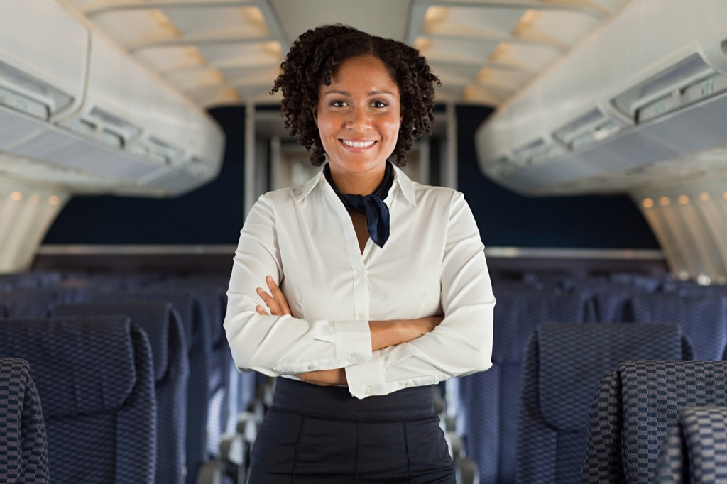 Flight attendant jobs with high divorce rates