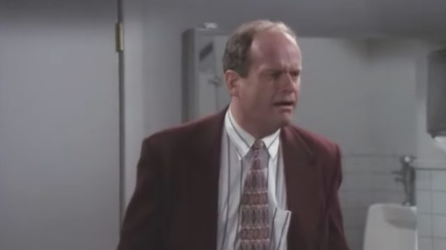 Frasier Dr. Crane Speaks Like a Man Funniest Sitcom Jokes