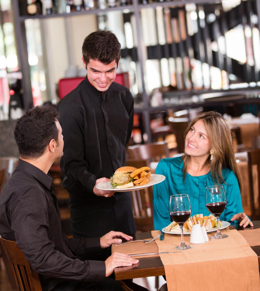 Overly-Friendly Waiter