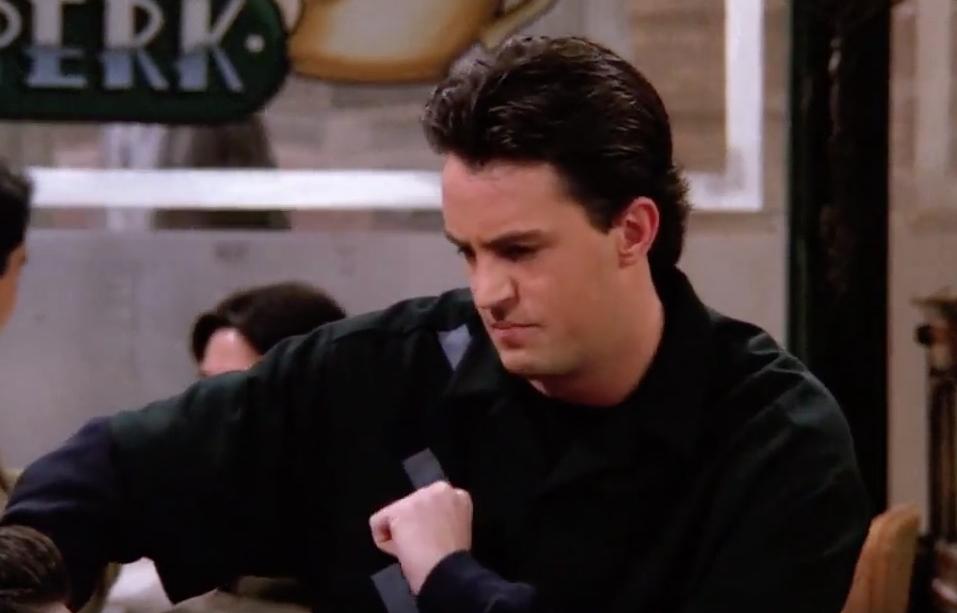 Friends Chandler Leaf Blower Funniest Jokes From Friends