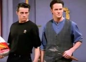 Friends Chandler and Joey Men are Here Funniest Jokes From Friends